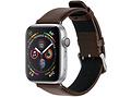 Effen Lederen bandje voor de Apple Watch 40 / 38 mm