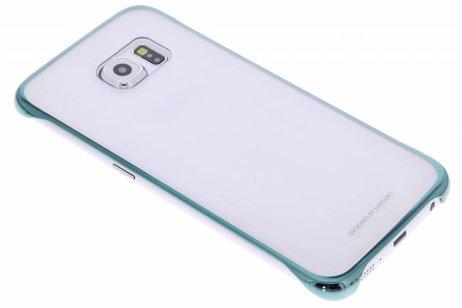 Samsung Clear Hardcase Backcover voor Samsung Galaxy S6 Edge - Groen