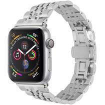 iMoshion Stalen watch bandje Apple Watch 38/40 mm - Zilver