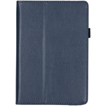 Effen Bookcase iPad mini (2019) / iPad Mini 4 - Donkerblauw
