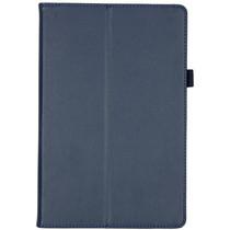Effen Bookcase Samsung Galaxy Tab S5e - Donkerblauw