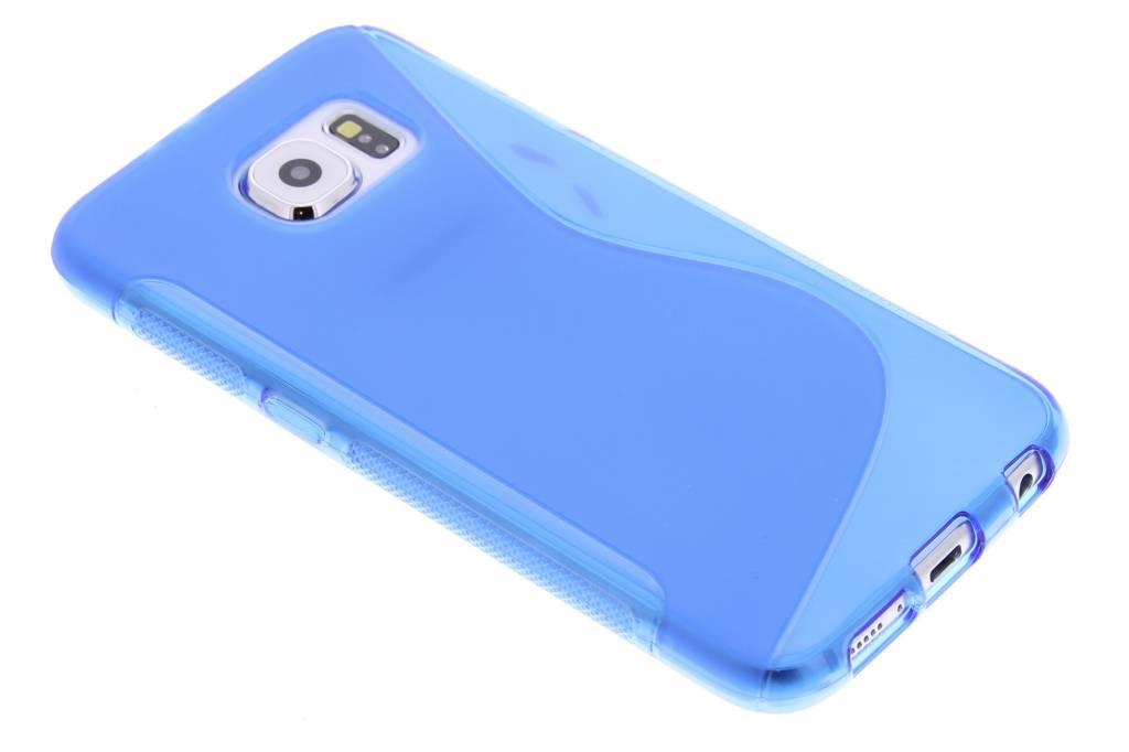 S-line Backcover voor Samsung Galaxy S6 - Blauw