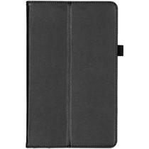 Effen Bookcase Samsung Galaxy Tab A 10.1 (2019) - Zwart