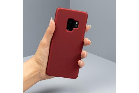 Huawei Y5 (2019) hoesje - Effen Backcover voor de