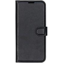 Basic Litchi Booktype OnePlus 7 - Zwart
