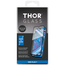THOR Full Screenprotector + Apply Frame OnePlus 7