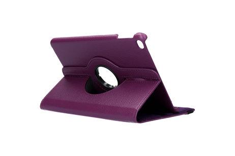 iMoshion 360° draaibare Bookcase voor de iPad mini (2019) / iPad Mini 4 - Paars