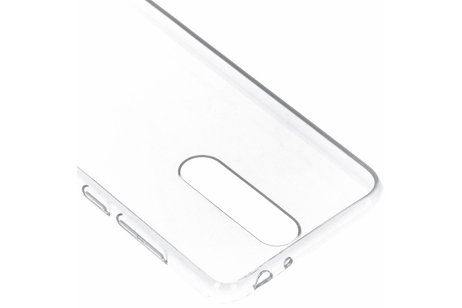 Nokia 5.1 Plus hoesje - Nokia Clear Backcover voor