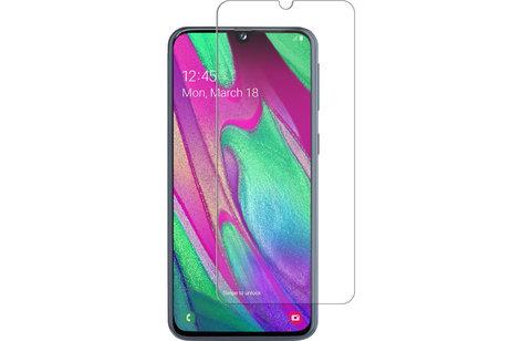 Selencia Gehard Glas Screenprotector voor de Samsung Galaxy A40