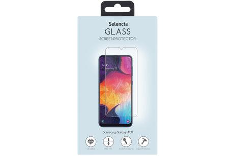 Selencia Gehard Glas Screenprotector voor de Samsung Galaxy A50