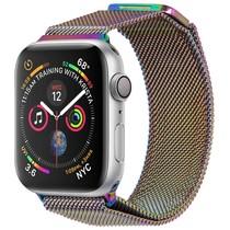 iMoshion Milanees Watch bandje Apple Watch 38/40 mm - Multicolor