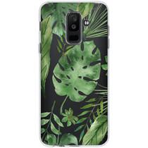 Design Siliconen Backcover Samsung Galaxy A6 Plus (2018)