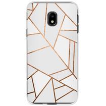 Design Siliconen Backcover Samsung Galaxy J3 (2017)