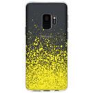 Design Backcover voor de Samsung Galaxy S9 - Splatter Yellow