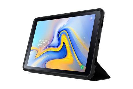 OtterBox Symmetry Folio Bookcase voor de Samsung Galaxy Tab A 10.5 (2018) - Zwart