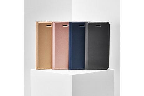 Dux Ducis Slim Softcase Booktype voor de Huawei P Smart Z - Goud