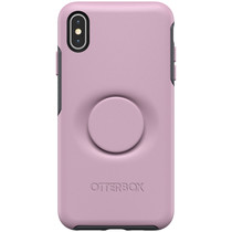 OtterBox Otter + Pop Symmetry Backcover iPhone Xs Max - Roze