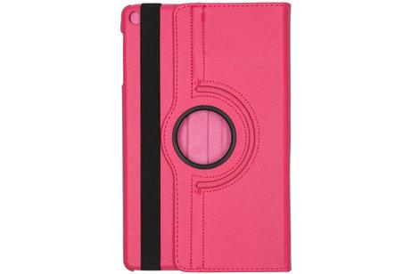 360° Draaibare Bookcase voor de Samsung Galaxy Tab A 10.1 (2019) - Roze