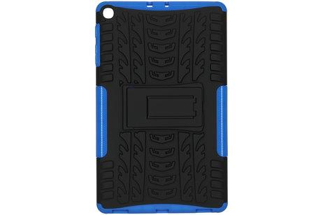 Rugged Hybrid Backcover voor de Samsung Galaxy Tab A 10.1 (2019) - Blauw