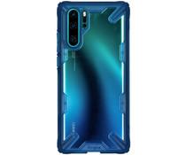 Ringke Fusion X Backcover Huawei P30 Pro - Blauw