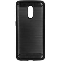 Brushed Backcover OnePlus 7 - Zwart