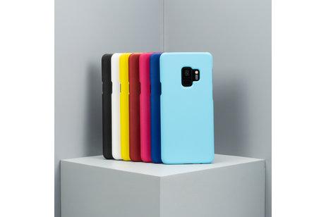 Effen Backcover voor de Huawei Nova 5t / Honor 20 - Zwart