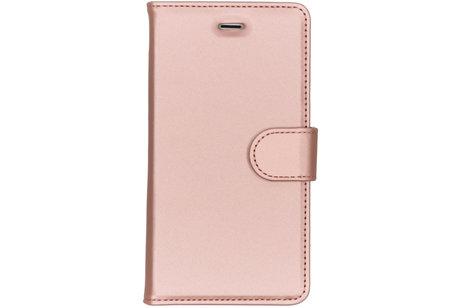 Accezz Wallet Softcase Booktype voor Nokia 3 - Rosé goud