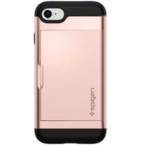 Spigen Slim Armor CS Backcover iPhone 8 / 7 - Rosé Goud
