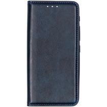 Luxe Kunstlederen Booktype Asus ZenFone 6 - Donkerblauw