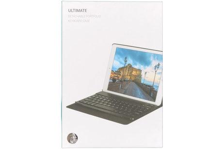 Bluetooth Keyboard Bookcase voor de Samsung Galaxy Tab A 10.1 (2019) - Zwart