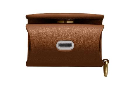 Spigen La Manon Leather Case voor de AirPods - Bruin