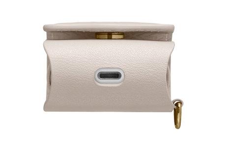 Spigen La Manon Leather Case voor AirPods - Beige