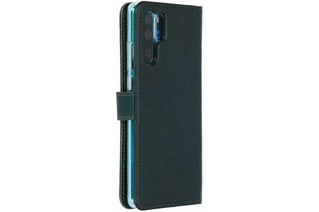 Huawei P30 Pro hoesje - Selencia Echt Lederen Booktype
