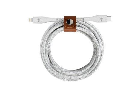 Belkin Boost↑Charge™ Lightning naar USB-C kabel - 1,2 meter - Wit