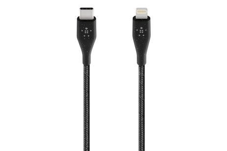 Belkin Boost↑Charge™ Lightning naar USB-C kabel - 1,2 meter - Zwart