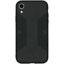 Accezz Impact Grip Backcover iPhone Xr - Zwart
