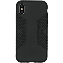 Accezz Impact Grip Backcover iPhone X / Xs - Zwart