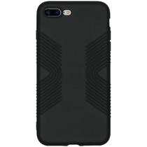Accezz Impact Grip Backcover iPhone 8 Plus / 7 Plus - Zwart