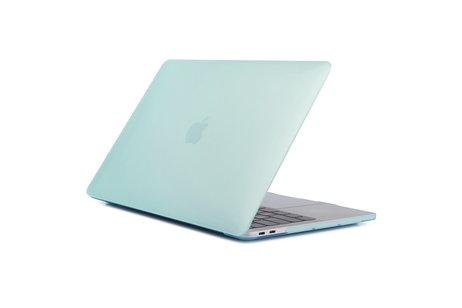 Design Hardshell Cover voor MacBook Pro Retina 13.3 inch Touch Bar - Mintgroen