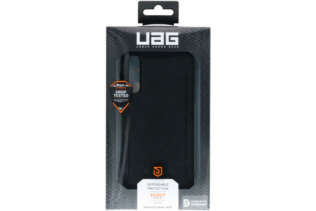 UAG Scout Backcover voor de Samsung Galaxy A50 / A30s - Zwart