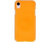 Neon Backcover iPhone Xr - Fluor Oranje