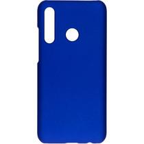 Effen Backcover Honor 20 Lite - Blauw