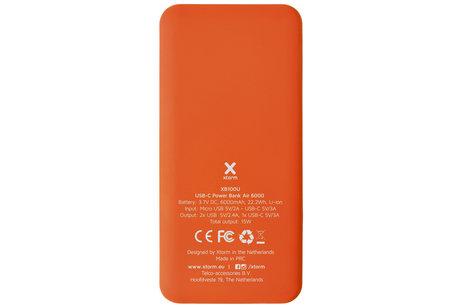 Xtorm USB-C Powerbank Air - 6000 mAh