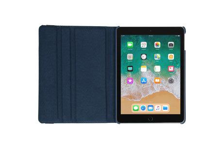 iMoshion 360° draaibare Bookcase voor de iPad (2018) / (2017) - Donkerblauw