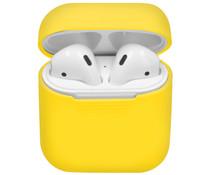 Siliconen Case voor AirPods - Geel