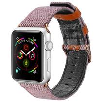 Dux Ducis Canvas Band Apple Watch 40 / 38 mm - Roze