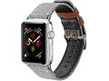 Dux Ducis Canvas Band voor de Apple Watch 40 / 38 mm - Grijs