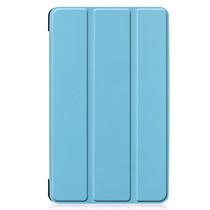 Stand Bookcase Samsung Galaxy Tab A 8.0 (2019) - Lichtblauw
