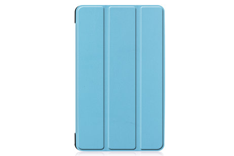 Stand Bookcase voor de Samsung Galaxy Tab A 8.0 (2019) - Lichtblauw