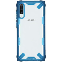 Ringke Fusion X Backcover Samsung Galaxy A70 - Blauw